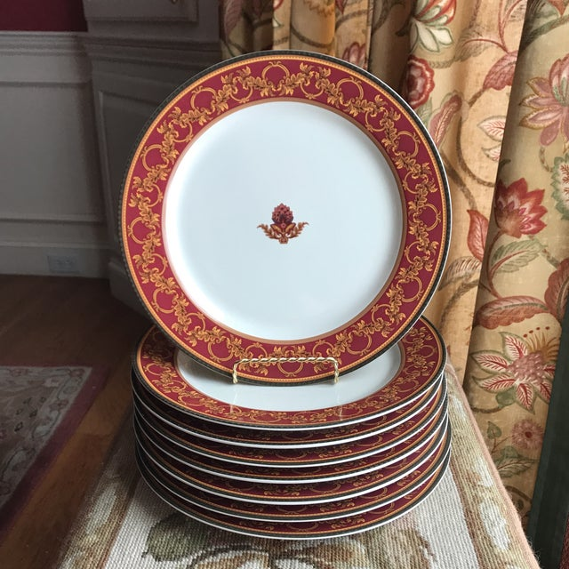 Fabulous Raymond Waites Ancient Kingdom Dinner Plates Set Of 8 Caraccident5 Cool Chair Designs And Ideas Caraccident5Info