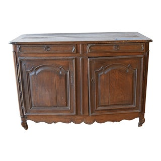 Mid 18th Century Antique Louis XV Fruitwood Buffet For Sale