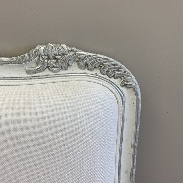 Carved French Style Headboard For Sale - Image 4 of 9
