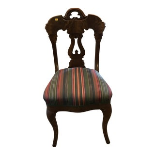 Late 19th Century Antique Victorian Chair For Sale
