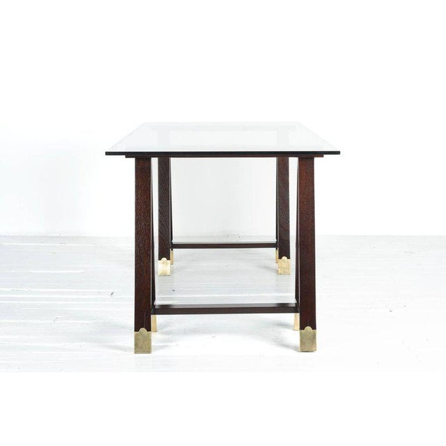 Arturo Pani Arturo Pani Trestle Table For Sale - Image 4 of 8