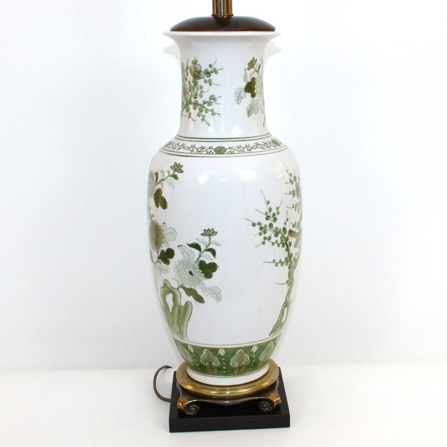 Overscale Vintage Japanese Porcelain Lamp - Image 4 of 10