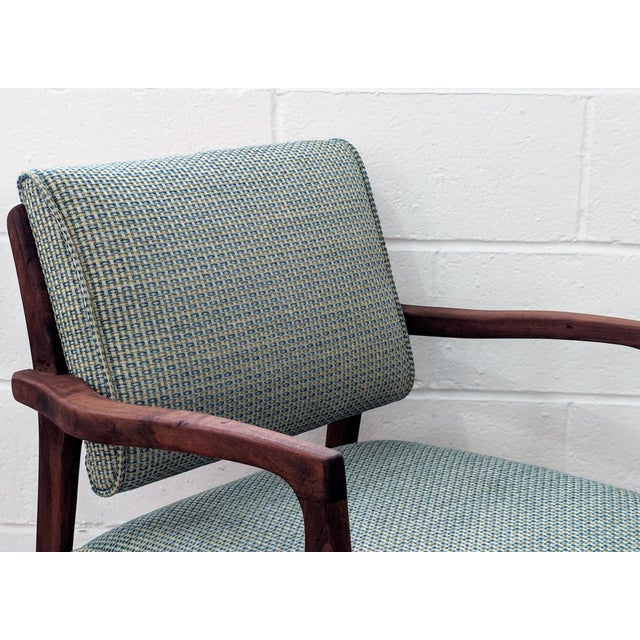 1960s Restored Vintage Armchair For Sale - Image 9 of 11