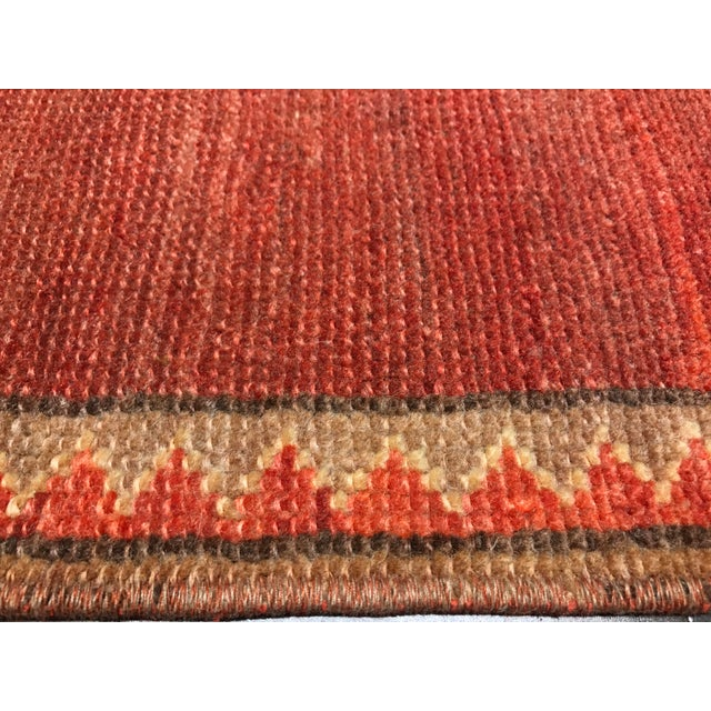 "Bellwether Rugs Vintage Turkish Oushak Runner - 2'4"" X 10'5"" - Image 8 of 10"