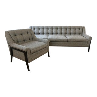 Chic & Proper Sofa & Chair Set - A Pair