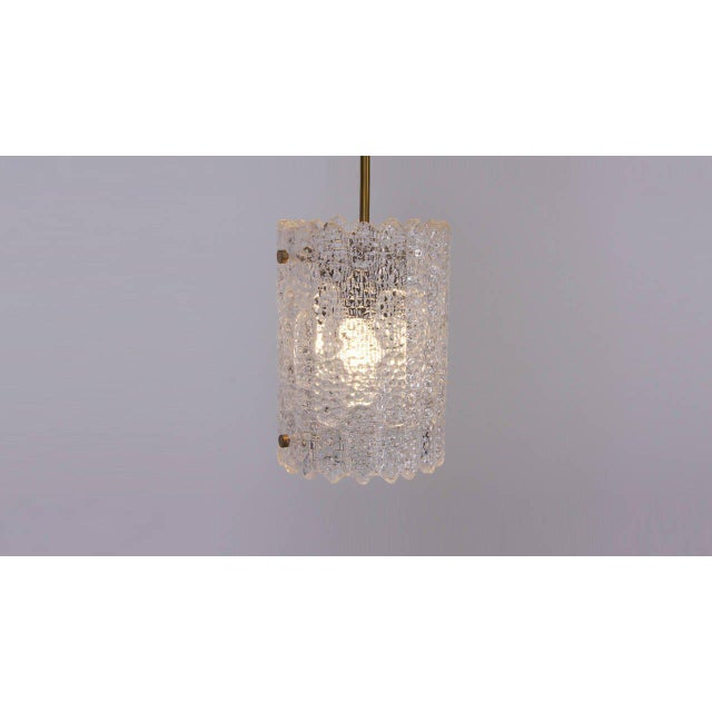 Gold Glass Pendant Light by Carl Fagerlund for Orrefors For Sale - Image 8 of 9