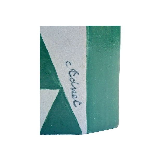 Vintage Art Deco Adnet Ceramic Inkwell - Image 5 of 5