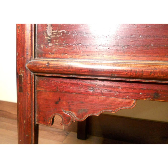Antique Chinese Ming Altar Cabinet - Image 6 of 9
