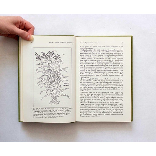1960s 1967 Vintage Taxonomy of Flowering Plants Book For Sale - Image 5 of 11