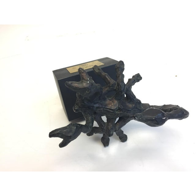 Mid Century Modern Brutalist Scorpio Sculpture For Sale - Image 9 of 13