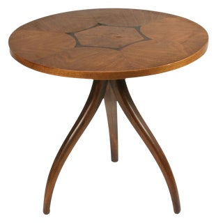 Drexel Inlaid Topped Tripod Gueridon Table For Sale