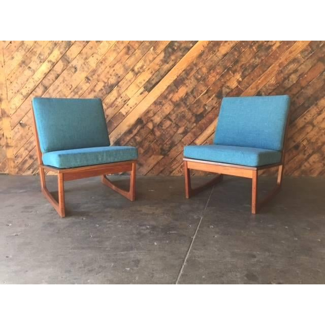 Mid Century Danish Lounge Chairs, Jacob Kjaer - 2 - Image 2 of 6