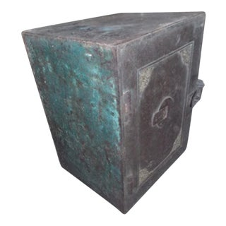 Antique Iron Safe From India For Sale