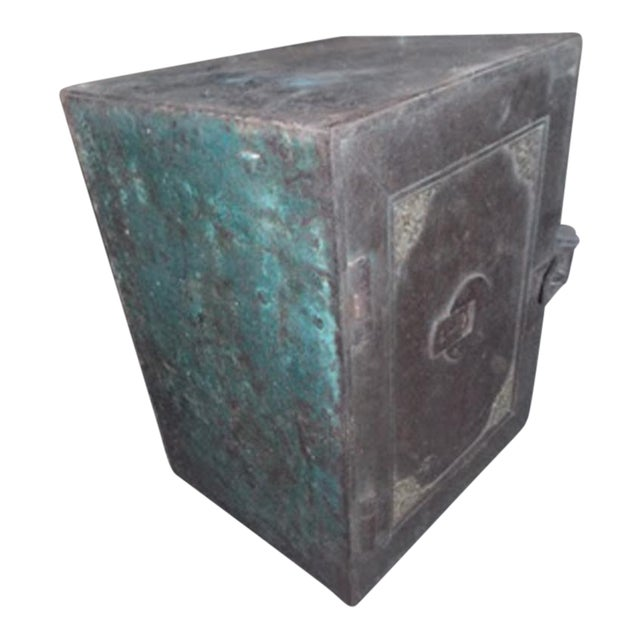Antique Iron Safe From India - Image 1 of 5