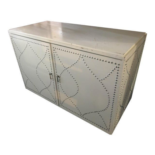 White Dry Bar Cabinet - Image 1 of 11