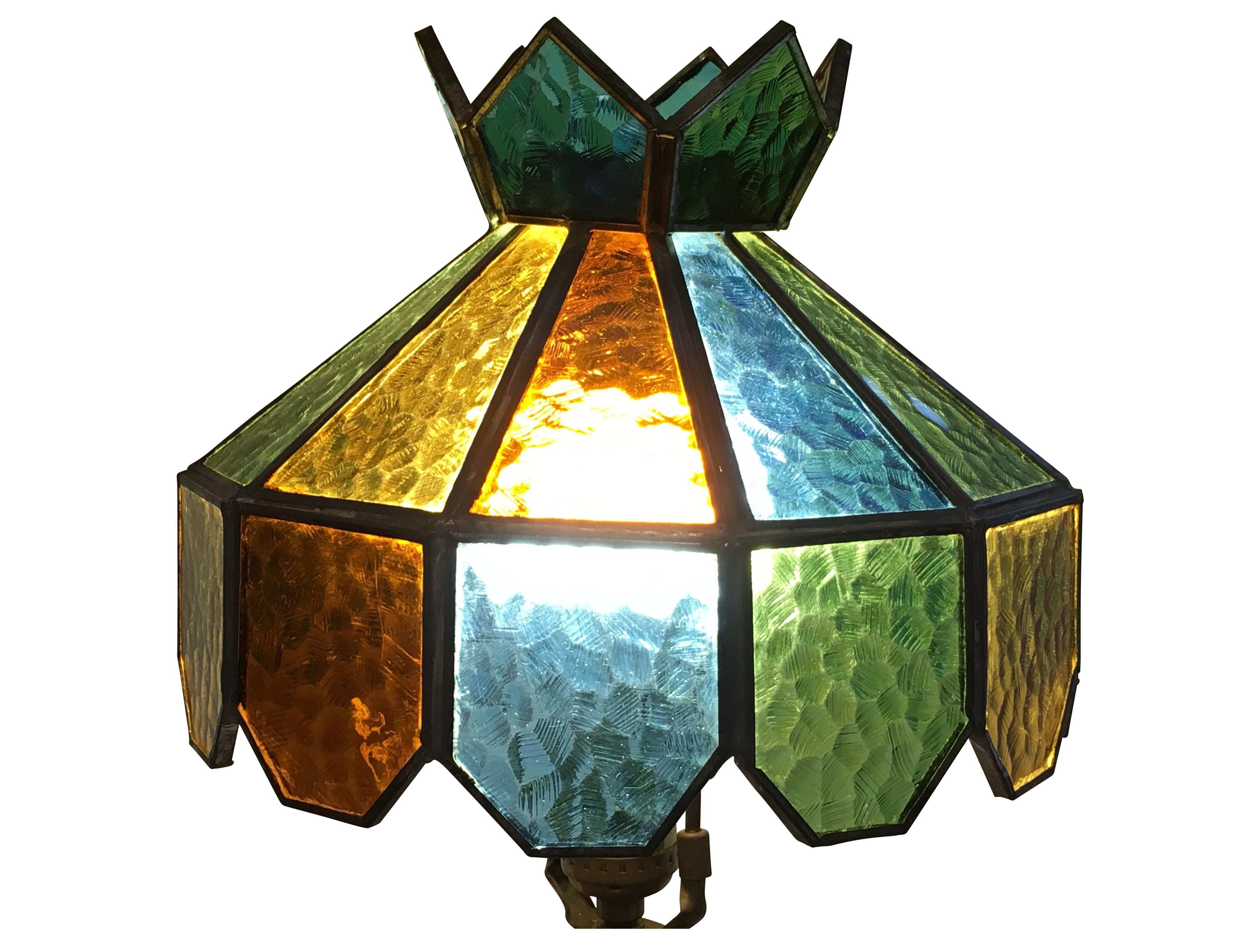 unique lamp shade image stained shades ideas glass of antique