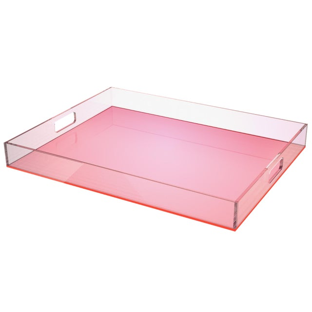 Pink Acrylic Tray - Image 1 of 3