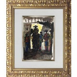Image of Pablo Picasso Lithograph Limited Edition Torero, Framed Print For Sale