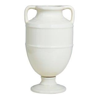 "Lantana Ivory Vase 17.5""h For Sale"