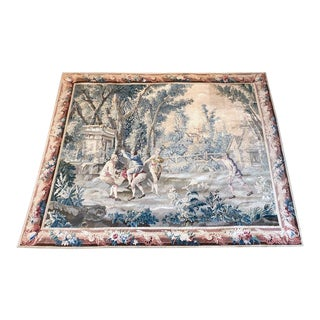 19th Century Wall Hanging French Tapestry For Sale