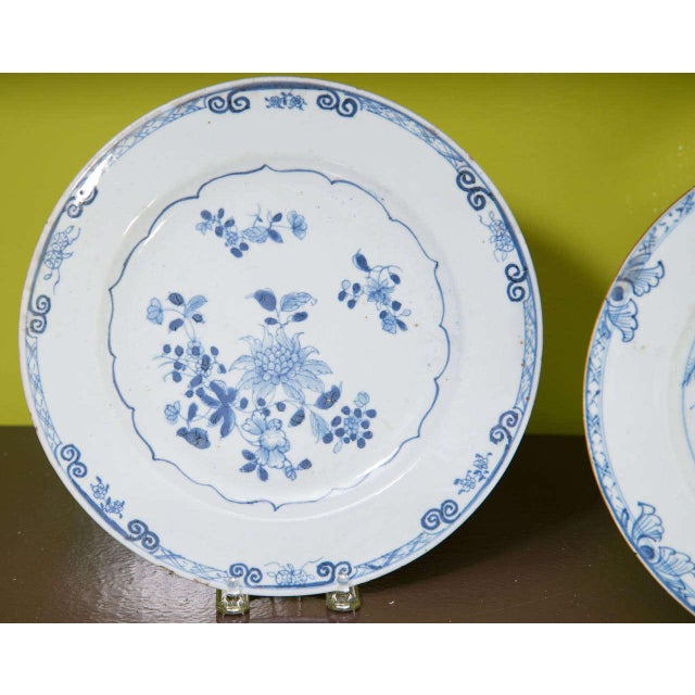Chinese Export Porcelain Plates For Sale - Image 9 of 10