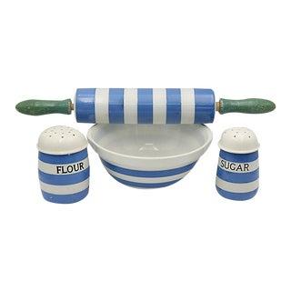T.G. Green English Cornishware Baking Set - 4 Pieces