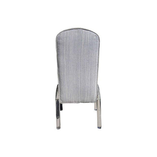 Desk Chair With Lucite Legs - Image 4 of 5