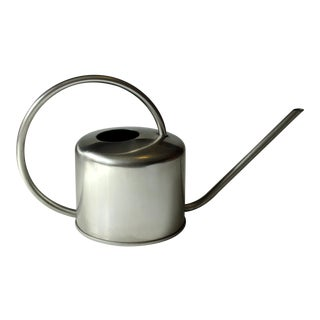 1970s Stainless Steel Watering Can For Sale