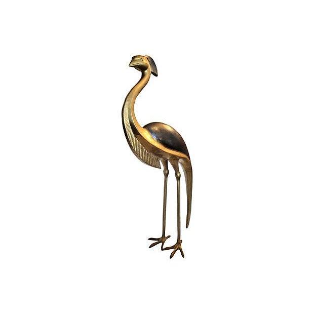 Vintage Bronze Bird Sculpture - Image 2 of 7