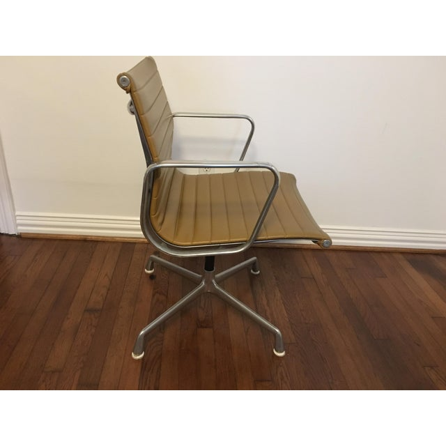 Eames Style Gold Office Chairs - A Pair - Image 3 of 7