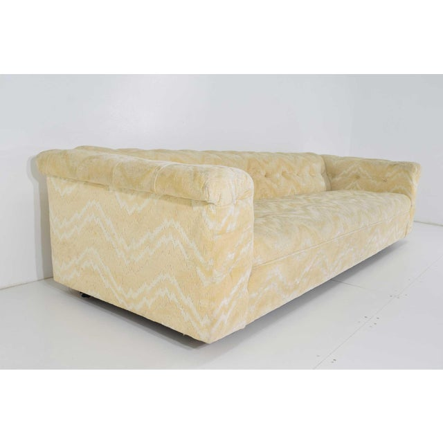 Textile Edward Wormley for Dunbar Party Sofa Model 5407, Pair Available For Sale - Image 7 of 10