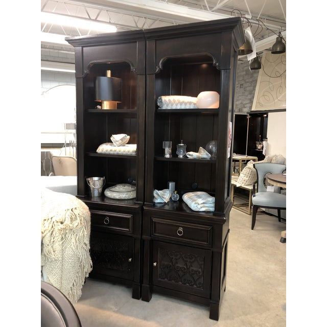Black Pacific Canyon Bookcase For Sale - Image 8 of 11