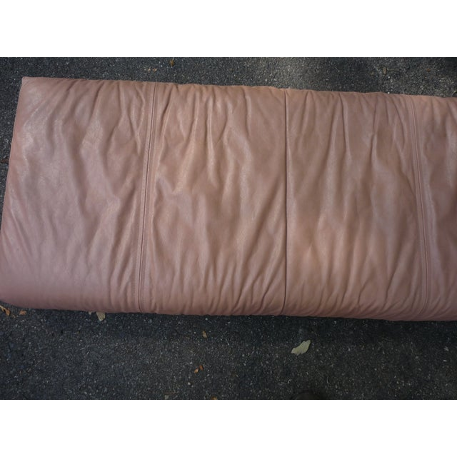 Sarlotti Natuzzi Leather Sectional Sofa - Image 5 of 7