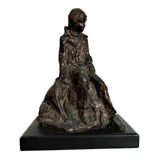 1940s Vintage Bronze Reproduction Figurine For Sale