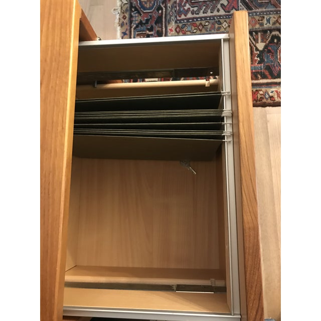 Jesper Scandinavian Teak Filing Cabinet For Sale - Image 9 of 9