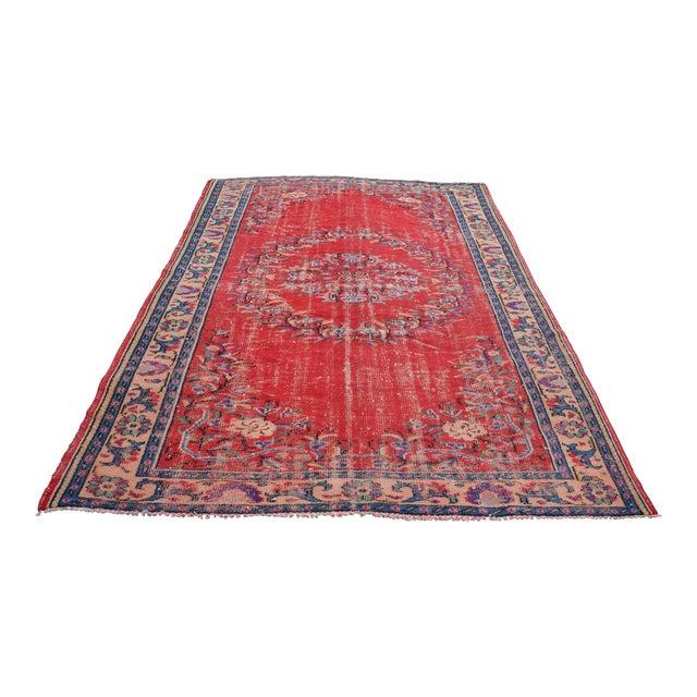 Turkish Rug Austin: Turkish Handmade Wool Carpet - 6′5″ × 9′6″