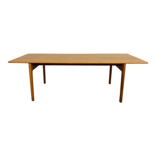 Hans Wegner for Andreas Tuck Solid Oak Mid Century Coffee Table For Sale