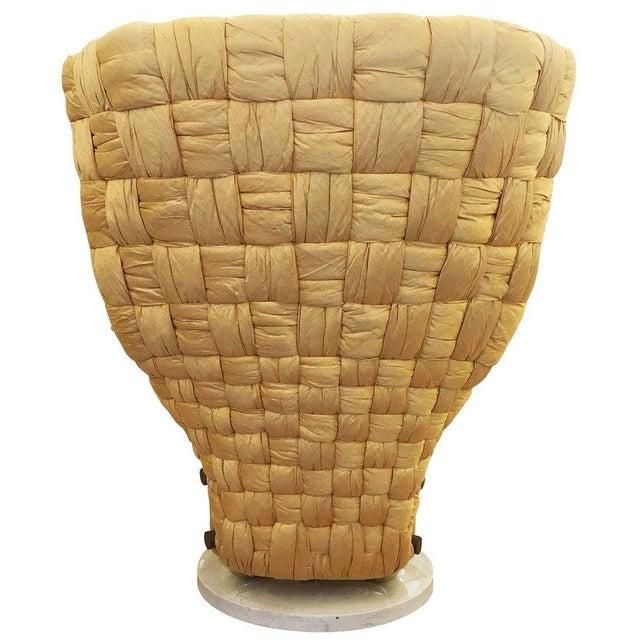 Italian Swivel Lounge Chair by Marzio Cecchi For Sale - Image 3 of 8