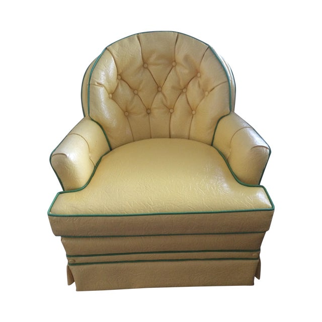 beautiful swivel club chairs | Woodmark Originals Leather Swivel Club Chair | Chairish