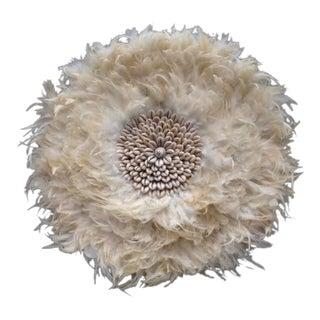 Decorative White Juju Hat