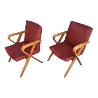 Howard Hughes Studio Screening Room Chairs by Thonet - a Pair
