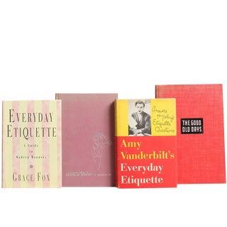 Etiquette & Decorum, S/8 For Sale