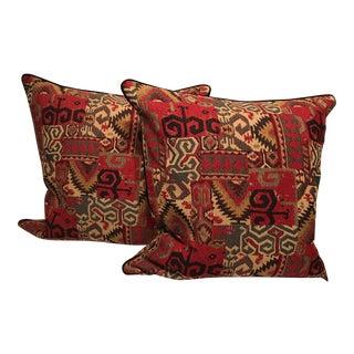 Tribal Print Pillows - A Pair