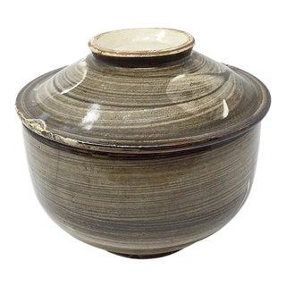 1910s Korean Ceramic Cooking Pot For Sale