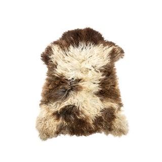 """Contemporary Natural Sheepskin Pelt - 2'7""""x3'2"""" For Sale"""