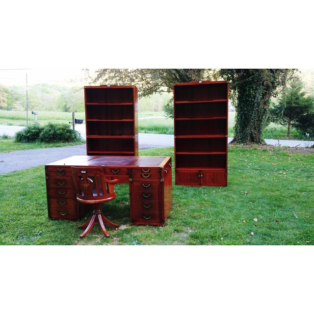 Starbay Rosewood Marco Polo Bookshelf Bookshelves - a Pair For Sale - Image 11 of 12