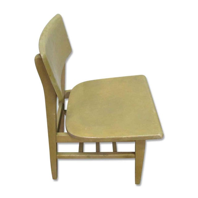 Brown Solid Maple School Chair For Sale - Image 8 of 10