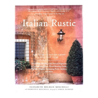 Italian Rustic Architectural Decor Book For Sale