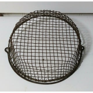 1930s Industrial Wire Basket Preview