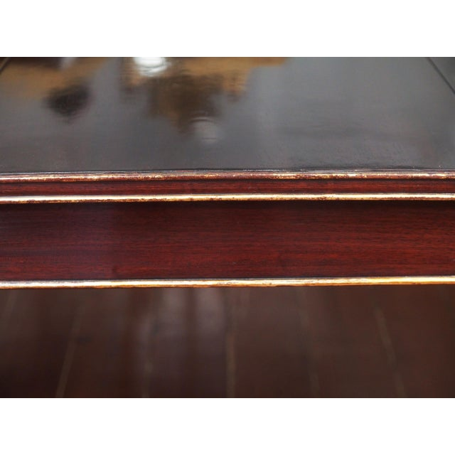 Maison Jansen Mahogany Dining Table For Sale In New Orleans - Image 6 of 10